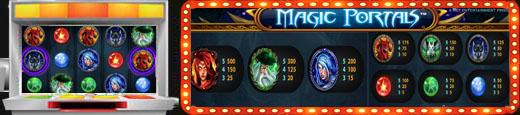 Ігровий автомат Magic Portals