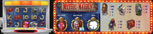 Ігровий автомат Mythic Maiden