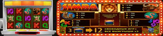 Ігровий автомат African Simba
