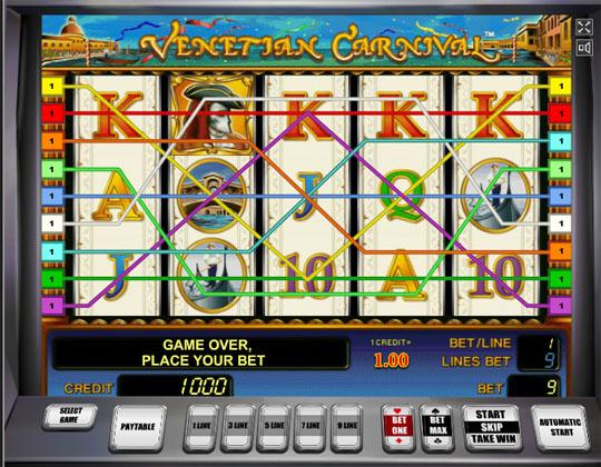 Ігровий автомат Venetian Carnival
