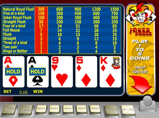 Joker Poker ігрові автомати