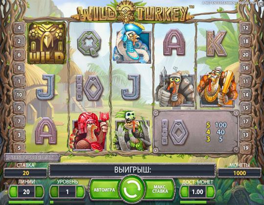 Ігровій автомат Wild Turkey