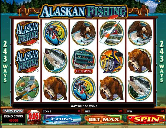 Ігровий автомат Риболовля на Алясці (Alaskan Fishing)