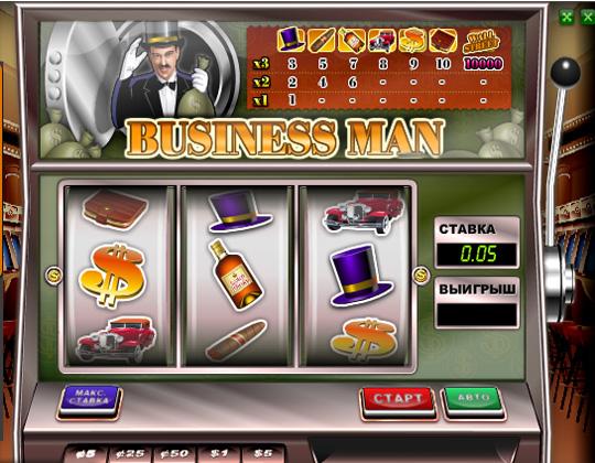 Ігровий автомат Бізнесмен
