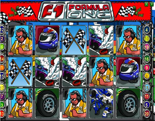 Ігровий автомат formula 1
