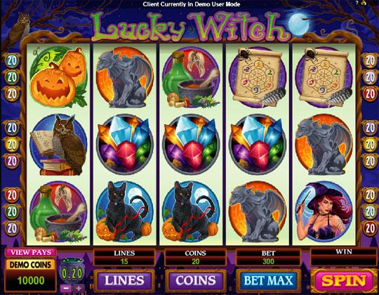 Ігровий автомат Lucky Wіtch
