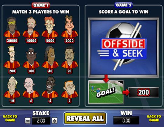 Ігровий автомат Offside And Seek