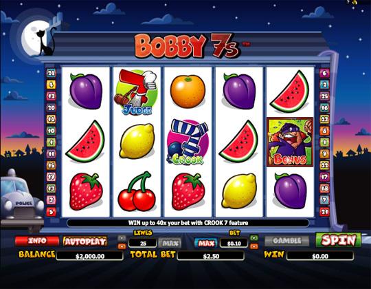 ігровий автомат Bobby 7