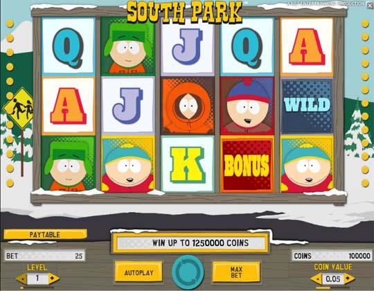 Ігровий автомат South Park
